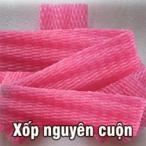 Lưới xốp đỏ nguyên cuộn