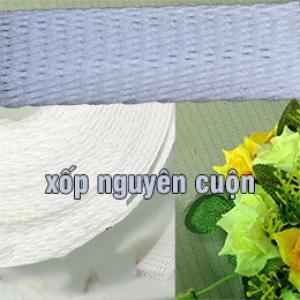 Lưới xốp trắng nguyên cuộn