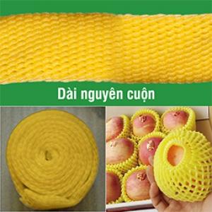 Lưới xốp vàng nguyên cuộn
